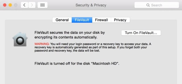 filevault screenshot