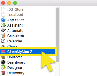 double-click on cleanmymac3