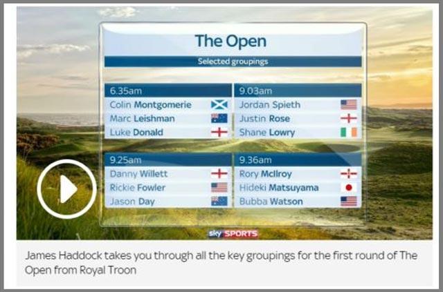 british open on sky sports