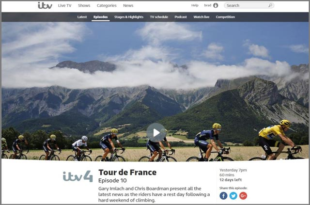 check out the itv live streams