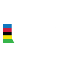 The logo of UCI: Union Cycliste Internationale.