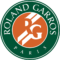 The logo of the Roland Garros tournament.