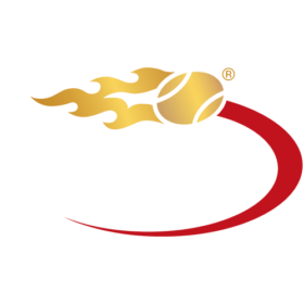 The logo of the U.S. Open tennis tournament.