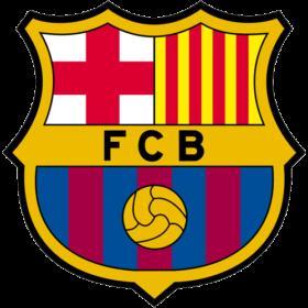 The logo of Football Club Barcelona