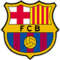 The logo of Football Club Barcelona