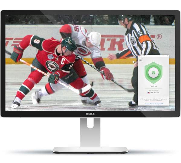 how to watch nhl live with expressvpn