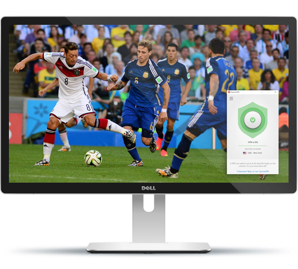 how to watch world cup live with expressvpn
