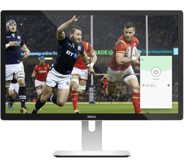 Live stream the 6 nations tournament with a VPN.