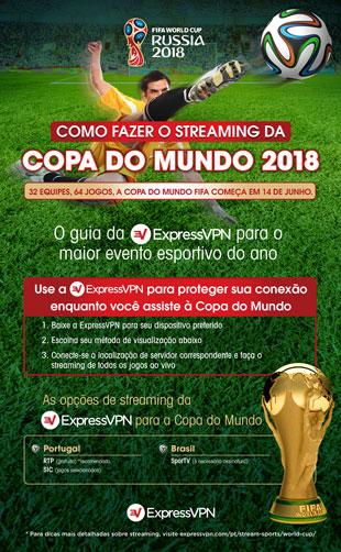 Infográfico: todas as maneiras de fazer o streaming da Copa do Mundo FIFA 2018