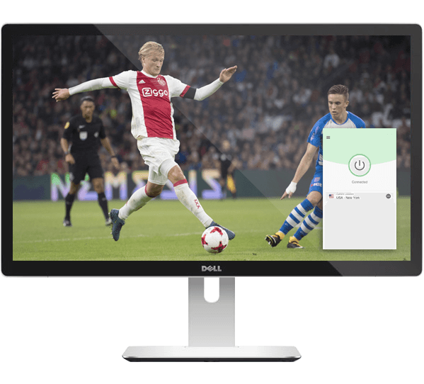Watch live Eredivisie games on any device with ExpressVPN.