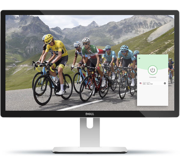 Watch the Tour de France with ExpressVPN.