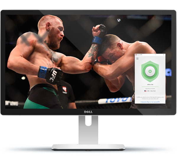 Watch UFC on any device with ExpressVPN
