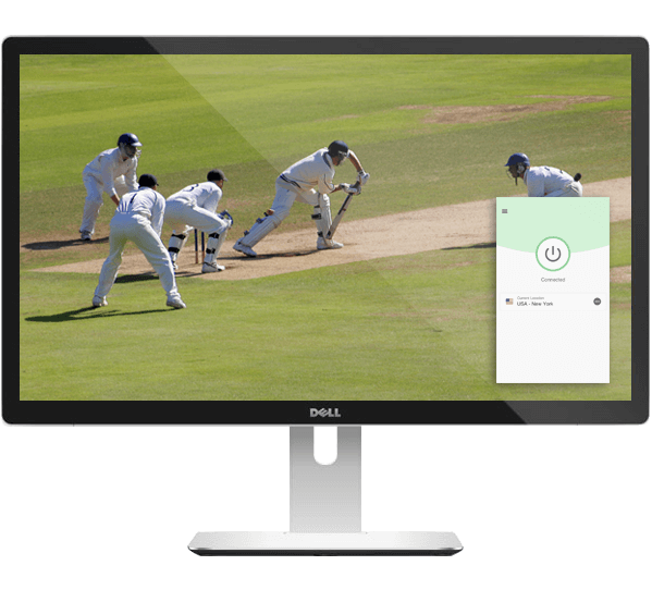 Watch live cricket games on any device with ExpressVPN.