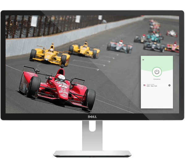 Live stream the Indy 500 with ExpressVPN.