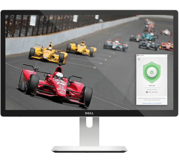 Stream the Indy 500 on any device with ExpressVPN.
