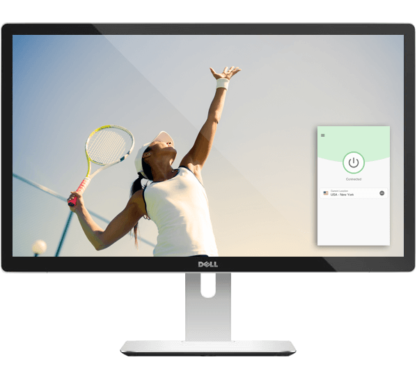Watch live tennis games with a VPN.