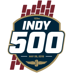 The logo of the Indy 500.