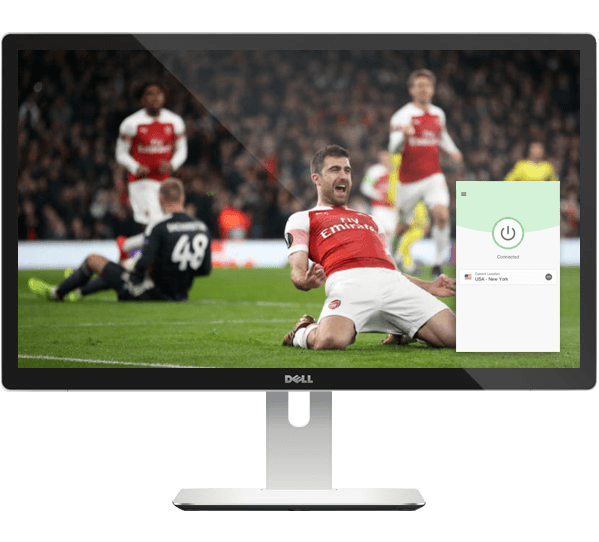 Watch the Europa League on any device with ExpressVPN.