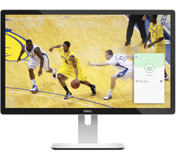 Watch March Madness on any device with a VPN.