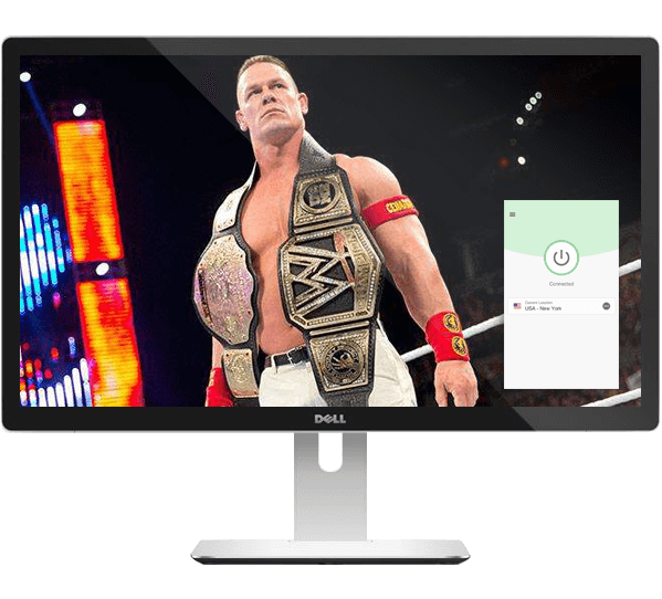 Stream the WWE live with a VPN.