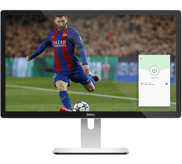 Watch the Champions League on any device with ExpressVPN.