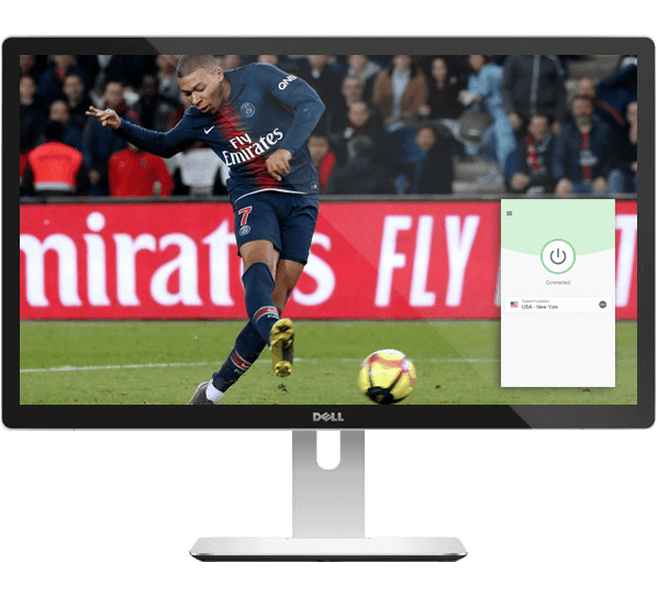Watch live Ligue 1 games on any device with ExpressVPN.