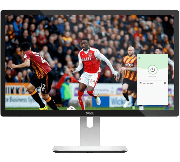 Watch every English football game on any device with a VPN.