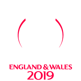 The logo of the ICC Cricket World Cup.