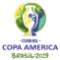 The logo of the 2019 Copa America.