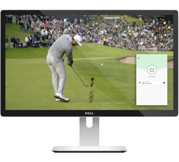 Stream golf live on any device with ExpressVPN.