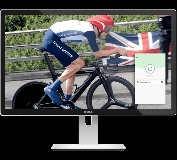 Stream the Giro d'Italia with ExpressVPN.