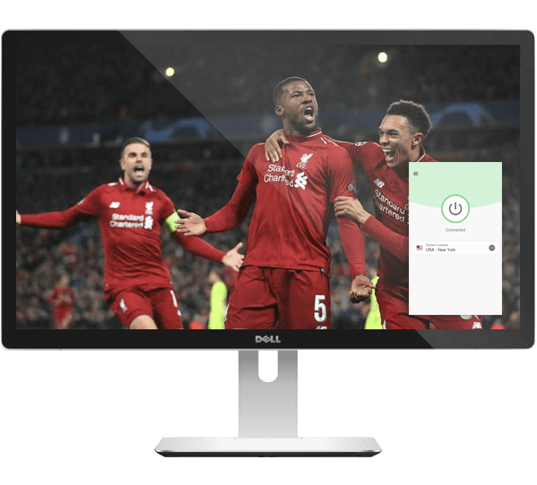 Watch Liverpool vs. Tottenham Hotspur with a VPN.