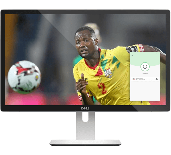 Stream the AFCON with ExpressVPN.