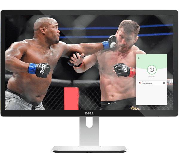 Watch Cormier vs. Miocic live with a VPN.