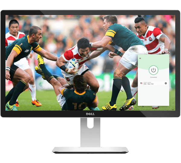 Stream the Rugby World Cup with a VPN.
