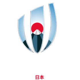 The logo of the 2019 Rugby World Cup.