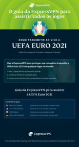 Infográfico: Como transmitir a UEFA Euro 2021