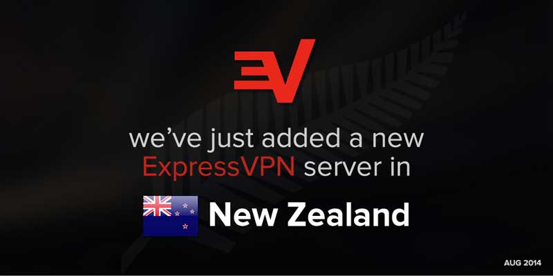 Who knew? New New Zealand ExpressVPN locations.