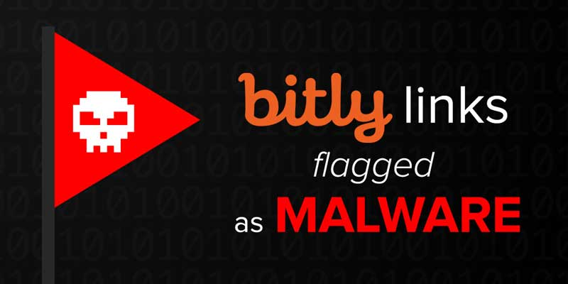 Bitly links flagged as Malware.