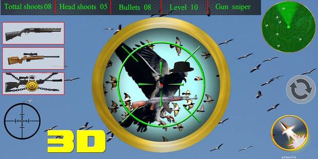 spy pigeon bird shooting