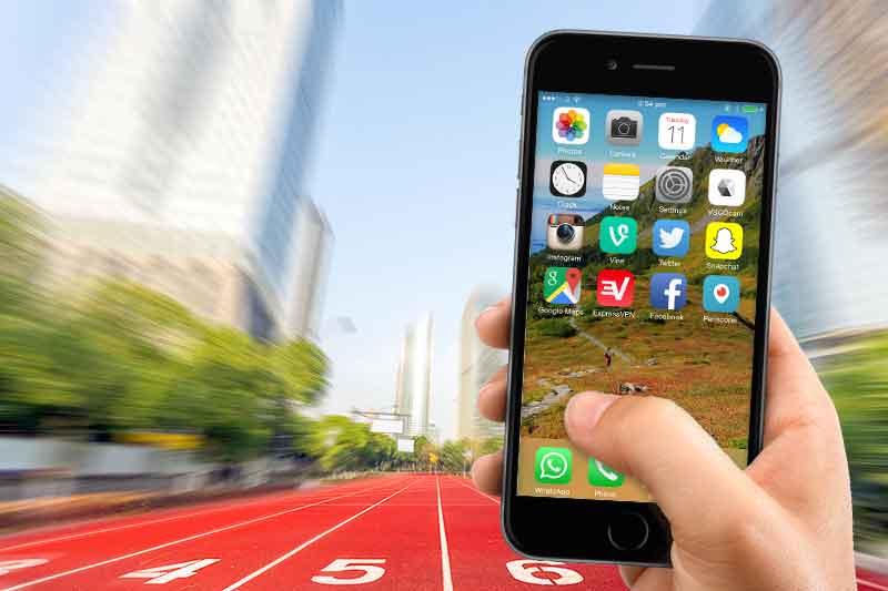 use social media at world track championship