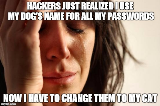 never use the same password twice