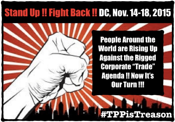 Stand up and fight the TPP