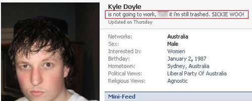 kyle doyle facebook fail