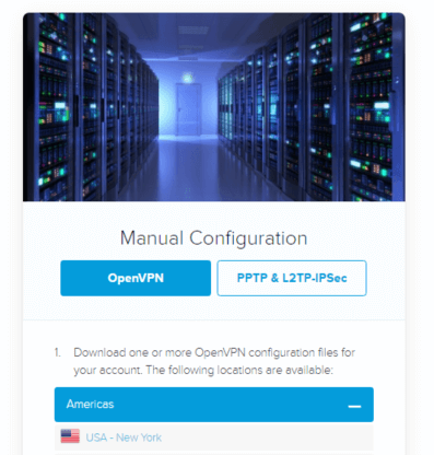 openvpn manual configuration