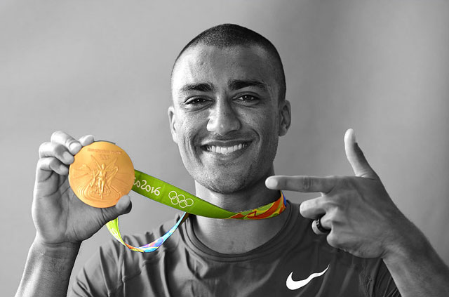 Olympic hero uses ExpressVPN