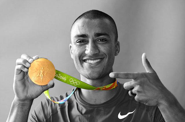 Olympic hero uses ExpressVPN