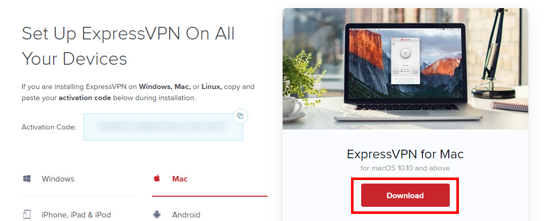 Get the latest ExpressVPN for Mac app