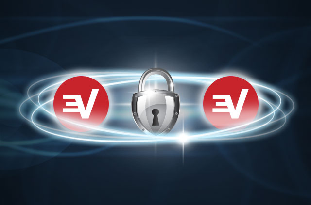 ExpressVPN secure server connection