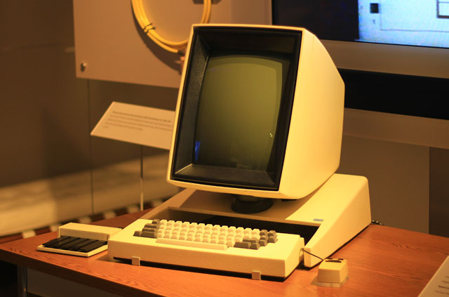 The Xerox Alto computer with GUI
